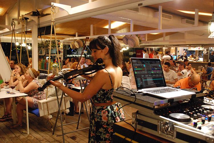 violín dj